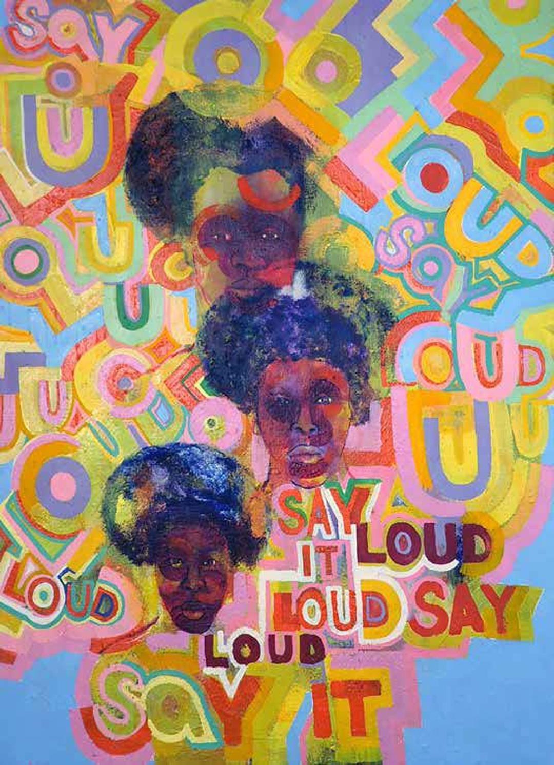 Gerald Williams, Say It Loud, 1968