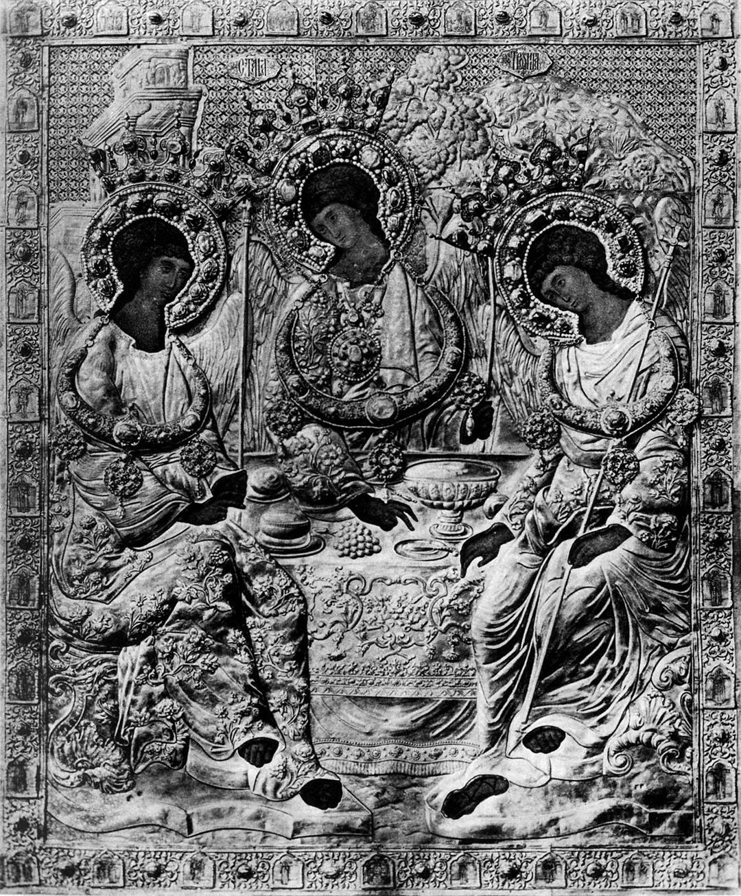 Andrei Rublev's Old Testament Trinity