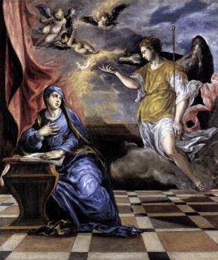 El Greco - Annunciation, ca. 1570-76