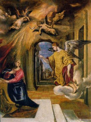 El Greco - Annunciation, ca. 1570