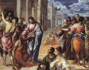 El Greco - Christ Healing the Blind, ca. 1572