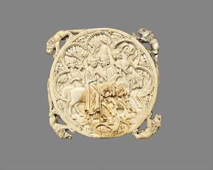 Ivory mirror case