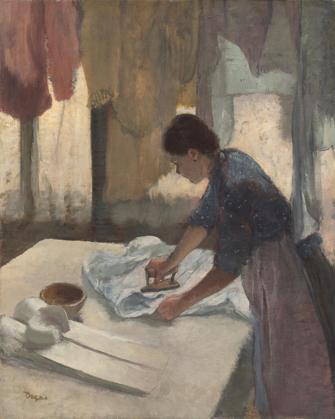 Degas, Woman Ironing, 1887