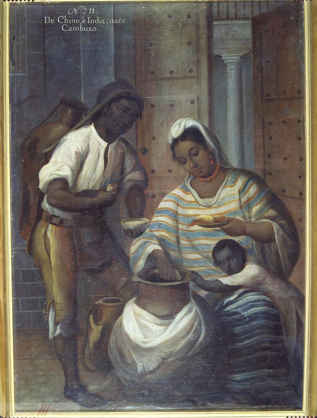 Andrés de Islas, No. 11. De chino e india, nace cambujo, 1774