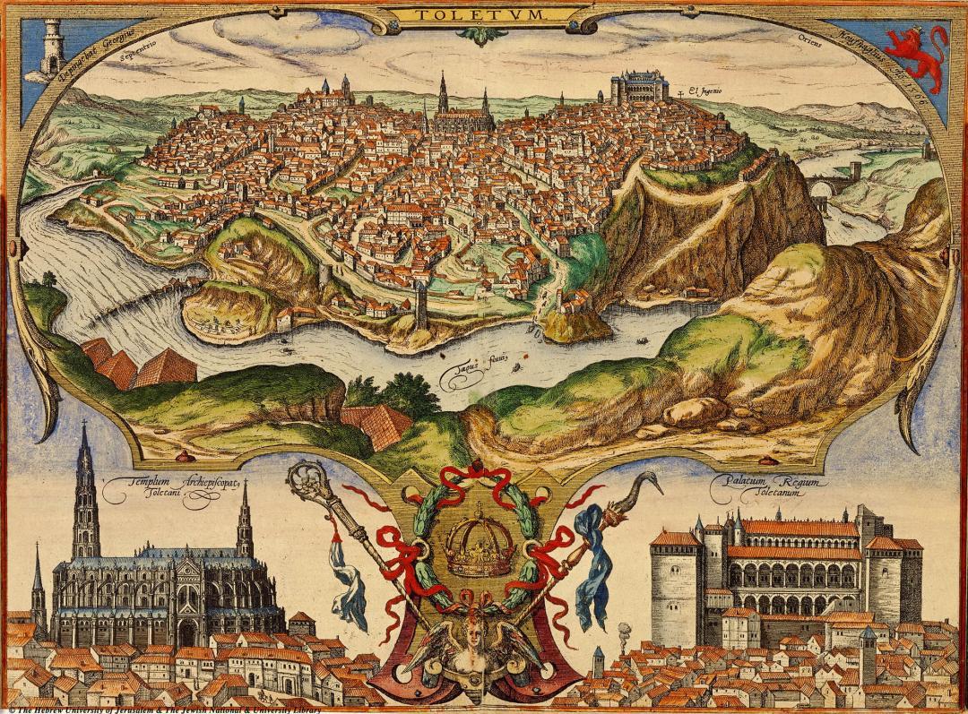 View of Toledo, 1566