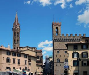 Bell Towers of the Badia and Bargello