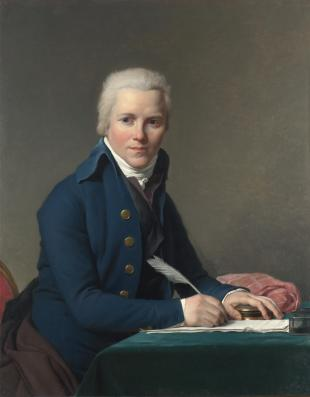 Portrait of Jacobus Blauw