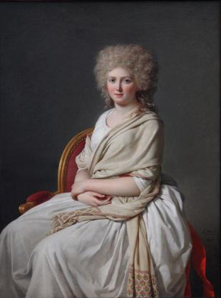 Portrait of Anne-Marie-Louise-Thélusson