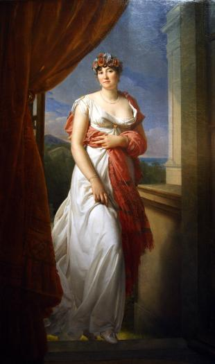 Portrait of Thérésa Tallien