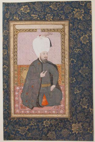 Portrait of Sultan Ahmed I, 1600