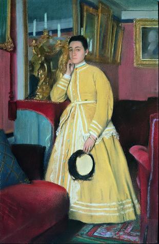 Degas, Portrait of Mme Edmondo de Morbilli, 1869