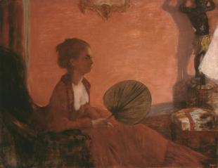 Degas, Madame Camus, 1869–70