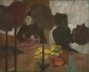 Degas, The Milliners, ca. 1882