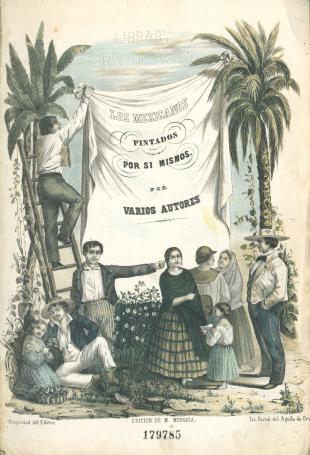 Frontispiece of Los mexicanos pintados por sí mismos