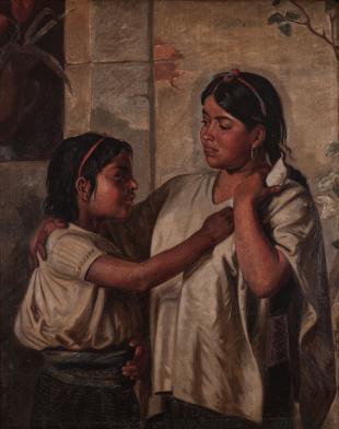 Felipe Santiago Gutiérrez, Indias de Oaxaca, ca. 1877
