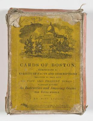 Eliza Leslie, Cards of Boston