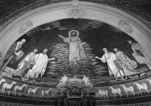 Cosma e Damiano, apse mosaic