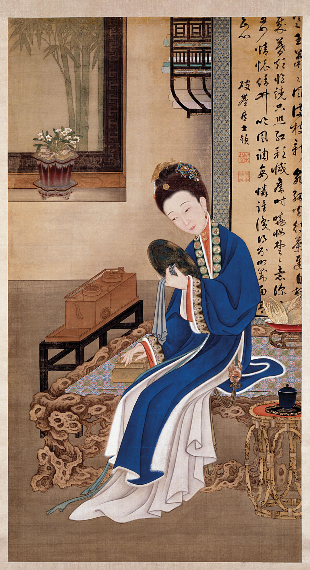 Twelve Beauties at Leisure Painted for Prince Yinzhen