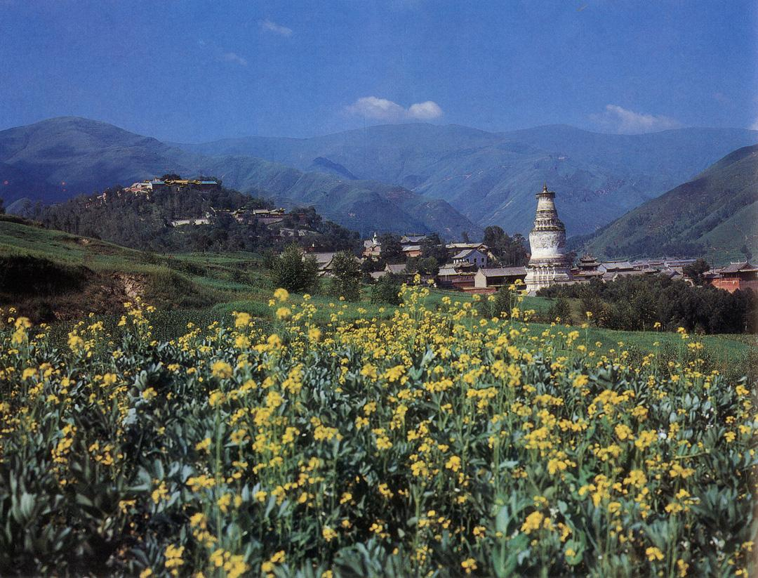 The current monastic buildings at Huayan Monastery 〉