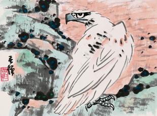 Li Kuchan, White Eagle