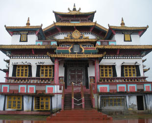 Akaniṣṭha Cāmara Copper Mountain Lotus Light Palace monastery