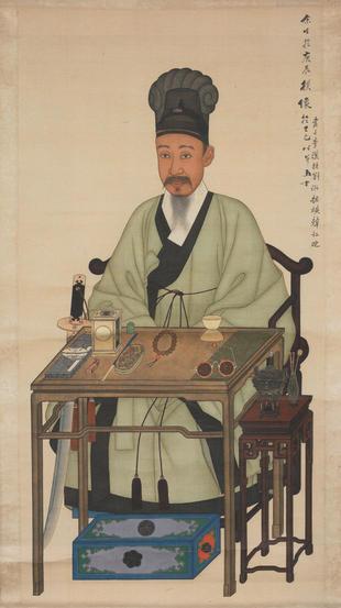 Portrait of Yi Haŭng