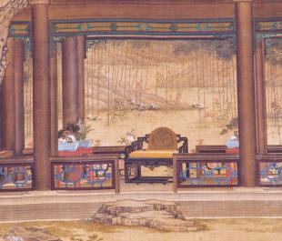 Detail, Watching Peacocks