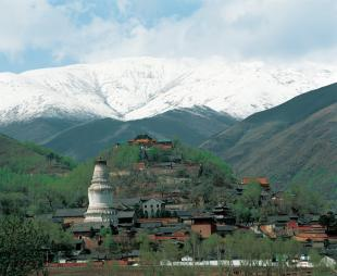 Site of the former Monastery of Great Faith in Vulture Peak 〉