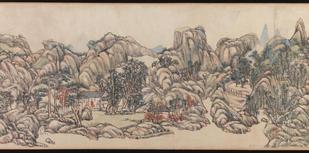 Wang Yuanqi, Wheel River Villa, 1711