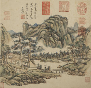 Wang Yuanqi, Ten Records of a Thatched Hut, 1708
