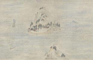 Wen Jia, Landscape of Jinshan and Jiaoshan