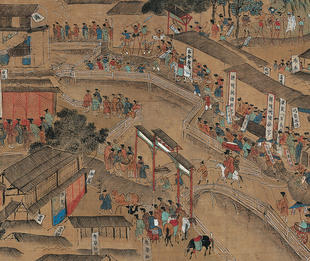 Qiu Ying (attributed), Prosperous Scenes of the South Capital City