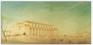1958 National Grand Theatre scheme